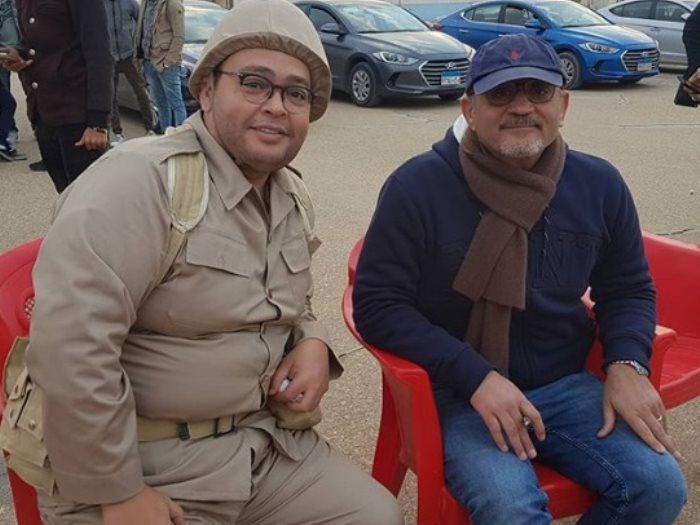 أحمد رزق مع شريف عرفة