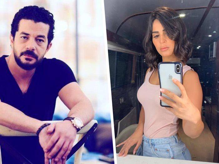 رانيا منصور و شريف سلامة