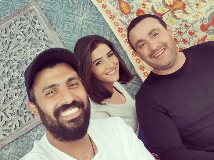 أحمد السقا ومى عمر ومحمد سامى