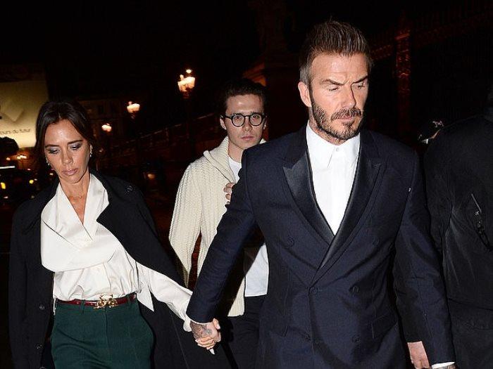 نتيجة بحث الصور عن David Beckham and his wife