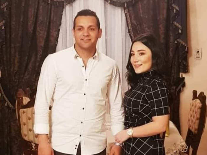 ابنة ماجد القلعى وخطيبها