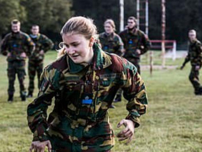 الأميرة اليزابيث فى الأكاديمية العسكرية