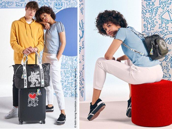 مجموعة Kipling X Keith Haring