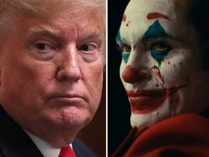 Joker ودونالد ترامب