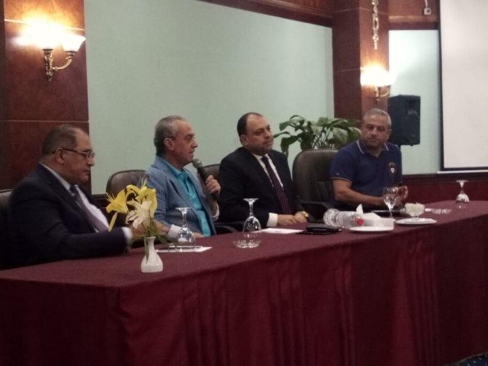 جانب من المؤتمر الصحفى للإعلان عن فعاليات الدورة الـ35 لمهرجان الإسكندرية