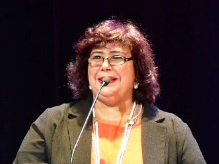 إيناس عبد الدايم - وزيرة الثقافة