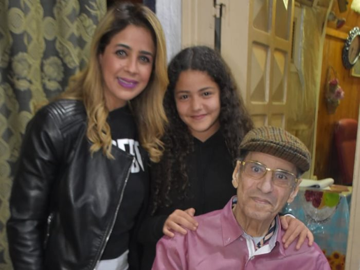 الموسيقار جمال سلامة وأسرته