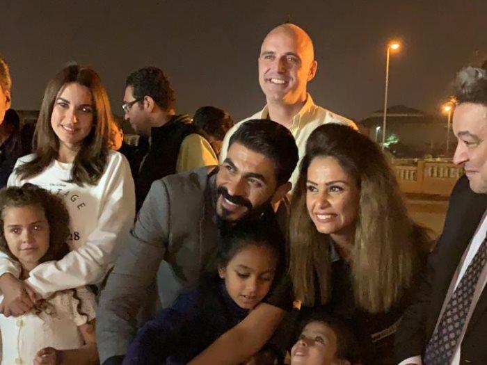 جانب من عيد ميلاد خالد سليم