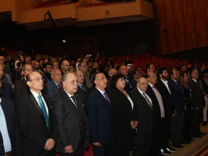 جانب من مهرجان الإسكندرية للمسرح العربى