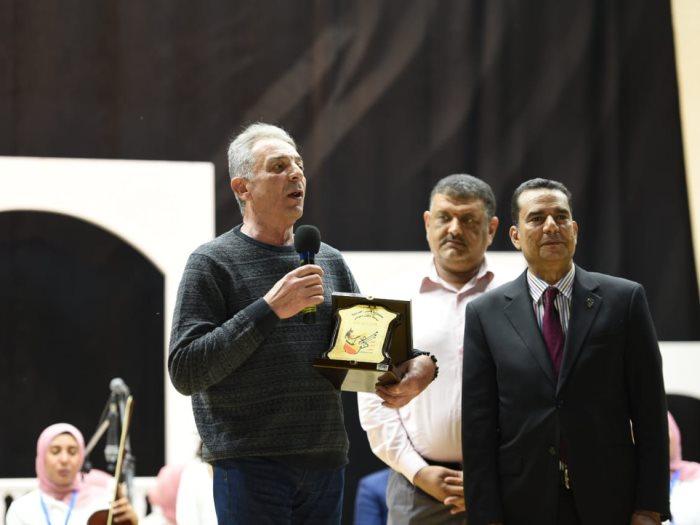 جانب من تكريم محمود حميدة