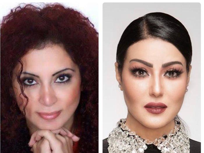 سمية الخشاب و رولا محمود