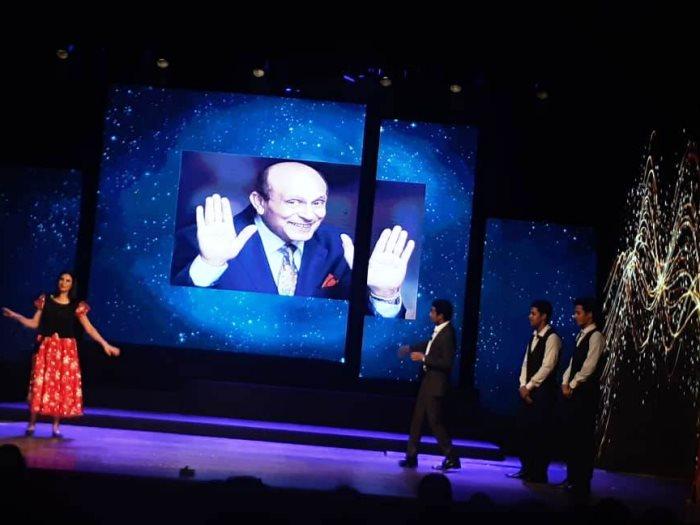 جانب من الاحتفالية الخاصة بيوم المسرح المصرى