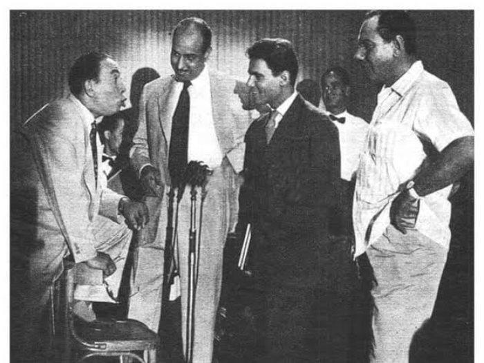 إسماعيل ياسين و عبد الحليم حافظ