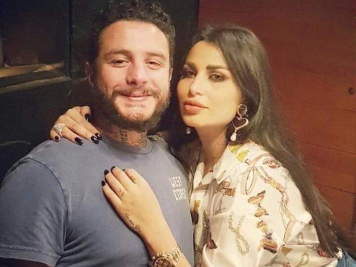 أحمد الفيشاوى وزوجته ندى الكامل
