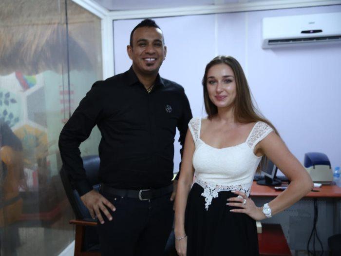 محمود الليثى وانستازيا