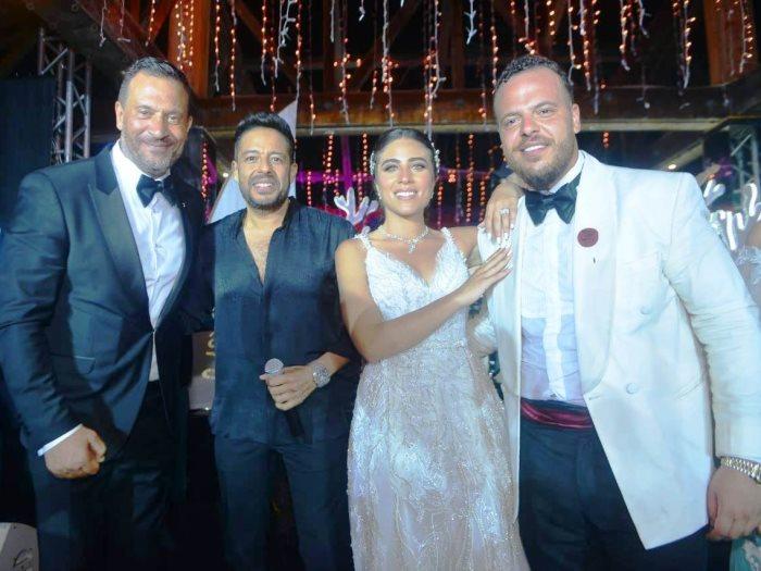 حماقى يحيى حفل زفاف ابن ماجد المصرى