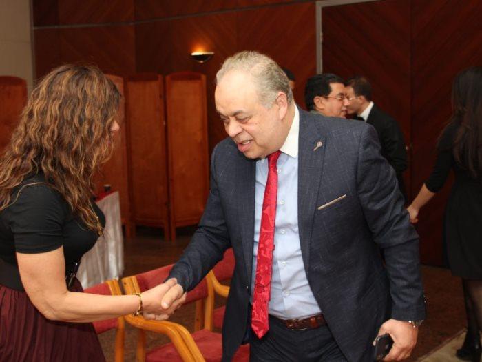 أشرف زكى فى ختام مهرجان الإسكندرية المسرحى العربى