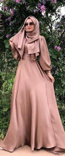 فستان - ازياء - ملابس - موضه - فستان محجبات - حجاب - فتاه