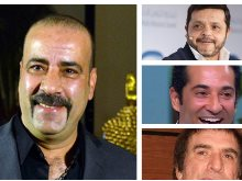 محمد سعد وهنيدى وعمرو سعد ومحيي إسماعيل