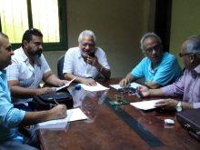 أعضاء اللجنة العليا لمهرجان أيام القاهرة الدولي للمونودراما