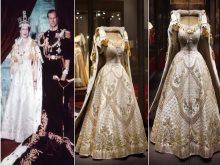 فستان الملكة إليزابيث