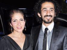 أحمد حلمى ومنى زكى