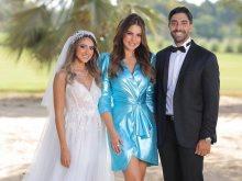 من حفل زفاف هند عبد الحليم