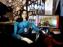 المرأة الروبوتية