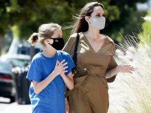 أنجلينا جولى وابنتها