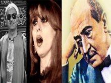 أحمد شوقى وفيروز والشيخ الفيومى