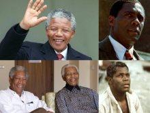 نجوم مثلوا شخصية نيلسون مانديلا