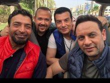 مصطفى قمر وهشام عباس وحميد الشاعرى وإيهاب توفيق
