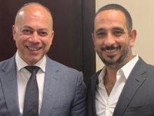 رجل الأعمال تامر مرسى والمنتج طارق الجناينى