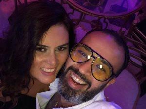 صور.. ماذا قالت رشا مهدى لزوجها فى عيد ميلاده؟