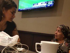 سما المصرى تكشف كواليس علاقتها بالراحلة آمال فريد فى أيامها الأخيرة