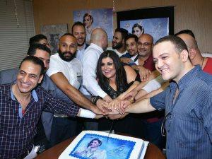 صور.. وعد البحرى تحتفل بإطلاق ألبومها «فرحتى بيك»