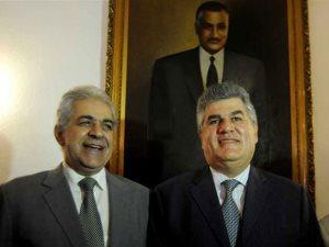 خناقة أولاد عبد الناصر وحمدين على قبر الزعيم