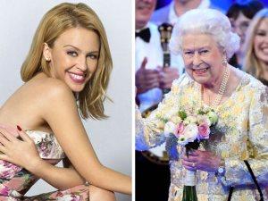كايلى مينوج محظوظة.. إليك حكايتها مع الملكة إليزابيث