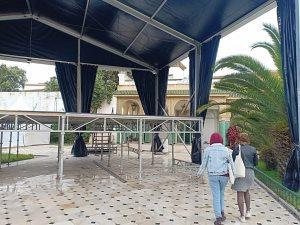 صور..  قصر تازى التاريخى يستعد لاستقبال 21 حفلة بمهرجان فيزا فور ميوزيك