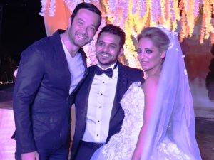 شاهد 6 صور من حفل زفاف محمد رشاد ومى حلمى