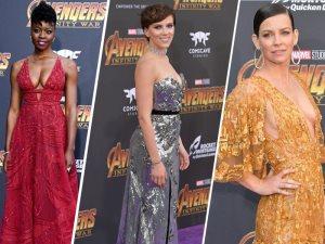 زهير مراد راعى إطلالات هؤلاء النجمات فى عرض Avenger: Infinity War