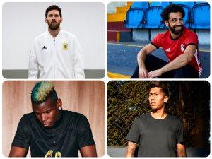 أديداس يكشف عن أحذية صلاح وميسى وبوجبا وفيرمينيو فى كأس العالم