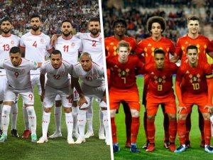 """كأس العالم.. تونس """"آخر ما تبقى من العرب"""" تواجه بلجيكا"""