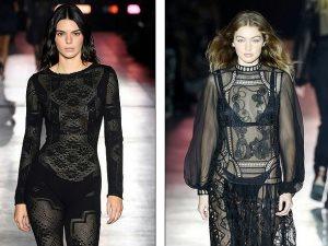 Vote.. من الأكثر إثارة بعرض أزياء Alberta Ferretti.. كيندال أم جى جى؟