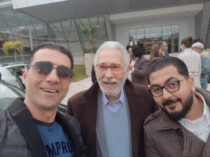 وصول الفنان عبدالرحمن أبوزهرة لتونس وتكريمه فى ختام أيام قرطاج المسرحية