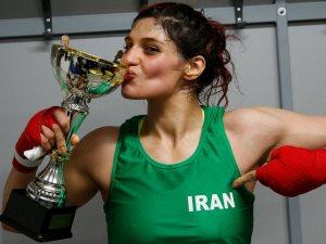 فتاة إيرانية تخشى العودة لوطنها بسبب مباراة ملاكمة فى فرنسا