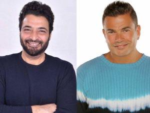 عمرو دياب يتعاون مع حميد الشاعري في ألبومه الجديد