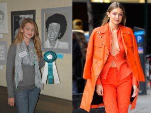 تحدى 10year challenge جعل عارضات الأزياء يرفعن شعار «حلوين من يومنا»