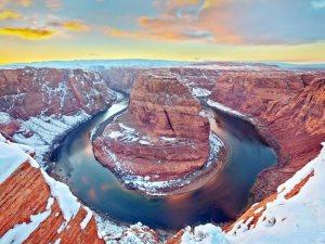 وسط البرودة تولد المشاهد الطبيعية.. شاهد ماذا فعلت الثلوج لتعطينا كل هذا الجمال