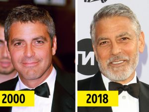 10 مشاهير جمالهم زاد بعد وصولهم لسن الأربعين